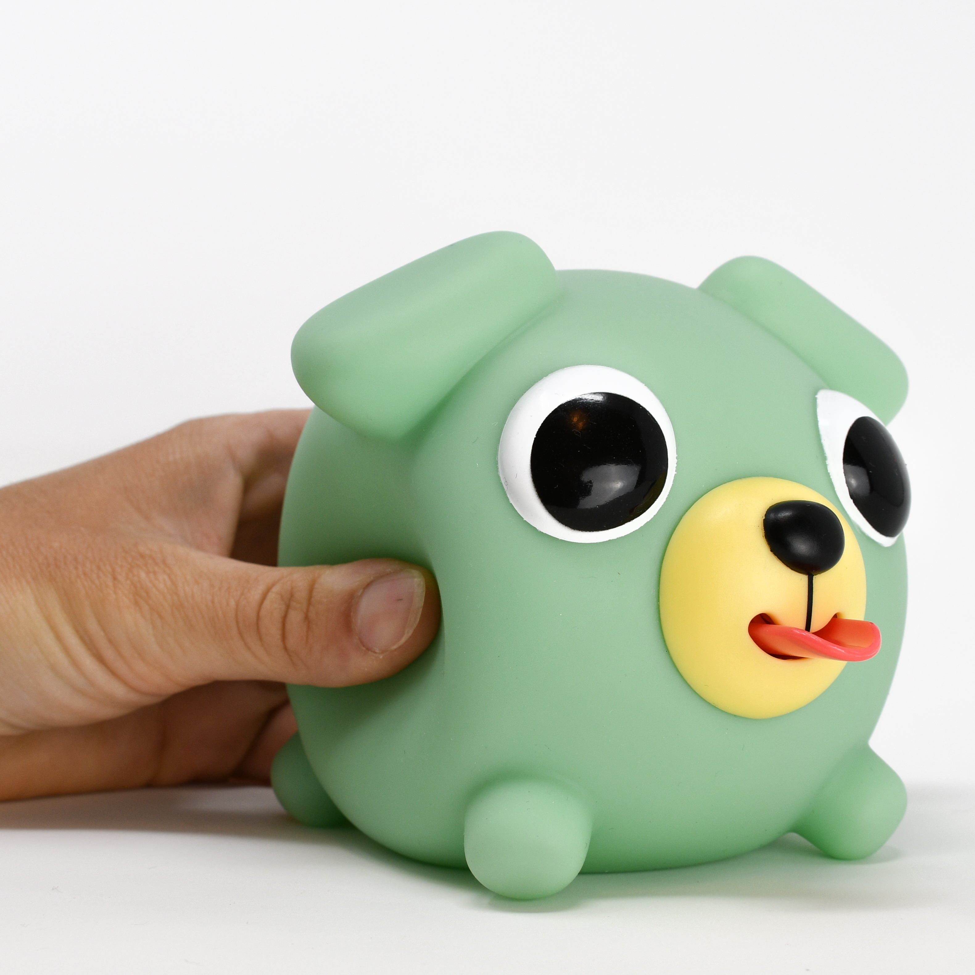 Jabber Ball Green Dog-10