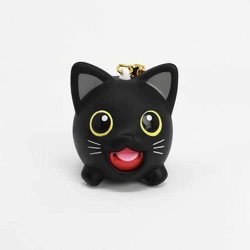 Black Cat Jibber Pet Charm