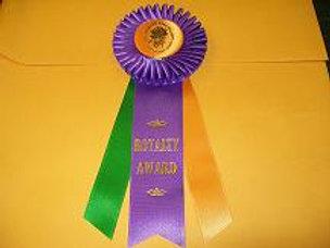 Royalty Award Rosette