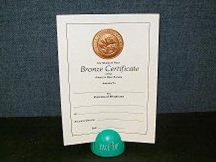 Mini Horticulture Certificate Bronze