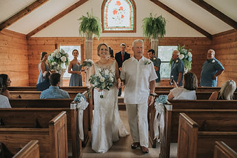 Wedding at Hardtner Chapel