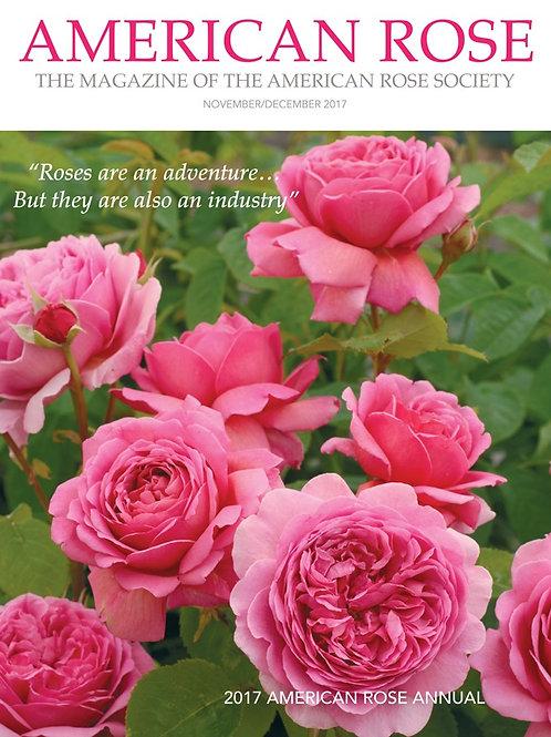 2017 American Rose Annual
