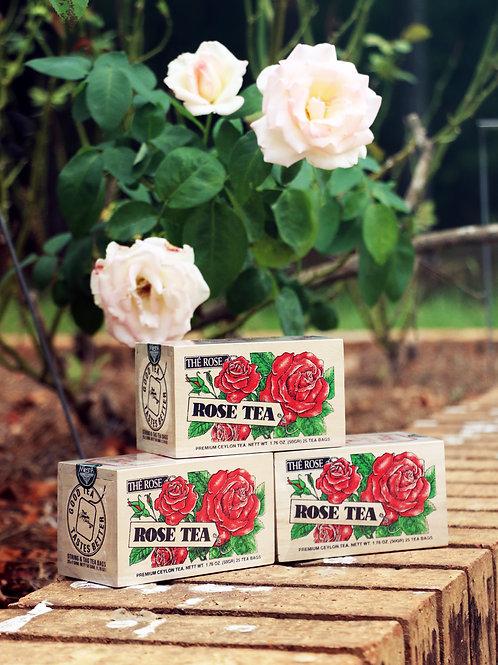 Rose Tea Boxes - 25 Tea Bags