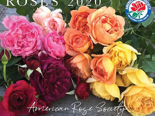2020 Roses Wall Calendar
