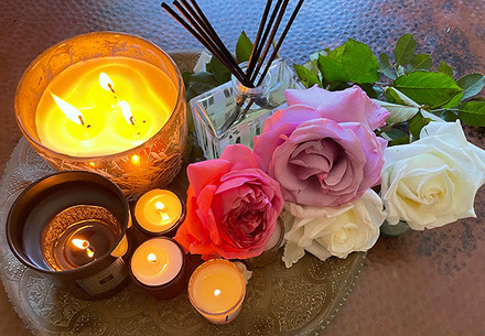 Aromatherapy for Roses