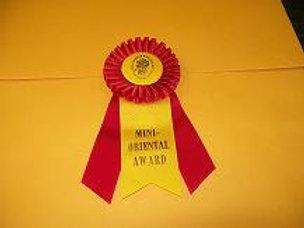 Mini-Oriental Award Rosette - Small