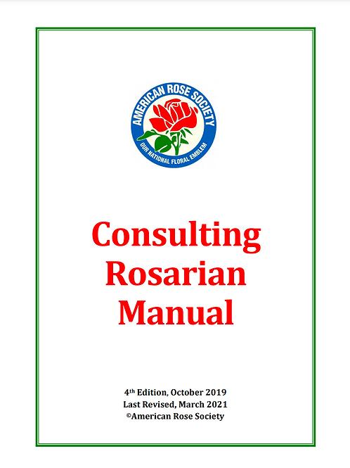 2021 Consulting Rosarian Manual