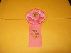 Mini Duchess Award Rosette - Small