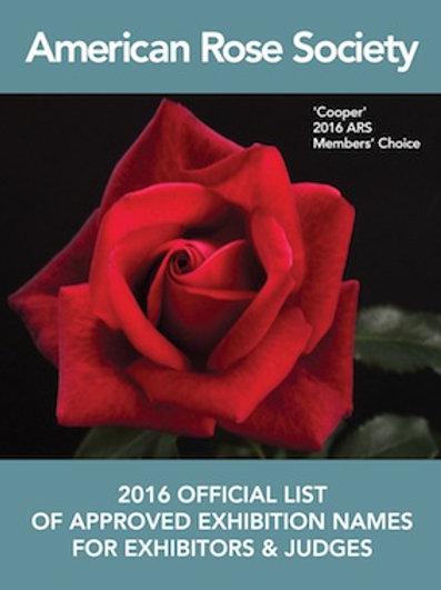 2016 Official List - PDF