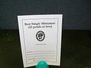 Miniature Single