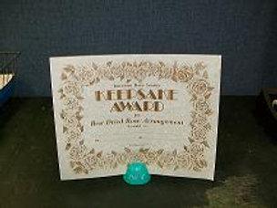 Keepsake Award