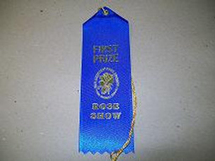 Horticulture Ribbons - First Place Blue