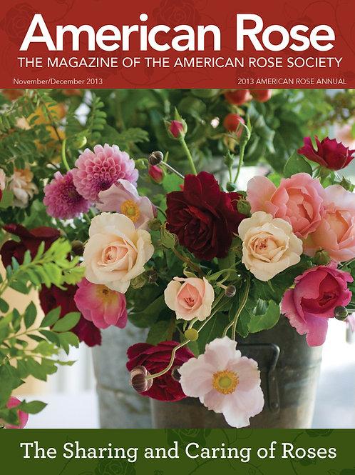 2013 American Rose Annual