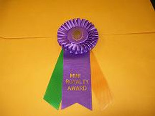 Mini Royalty Award Rosette - Small