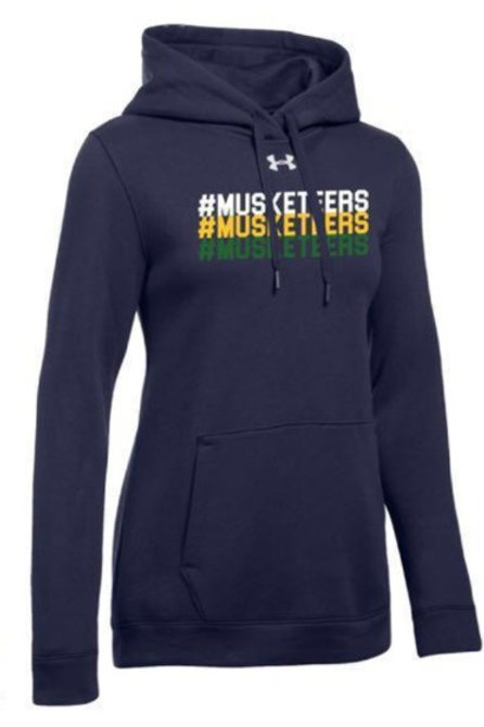 "Under Armour ""#MUSKETEERS"" Hoodie - Youth"