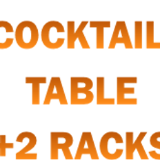 STS Bazaar - 1 Cocktail Table + 2 Standard Racks