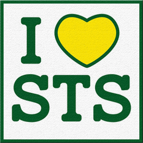 """I love STS"" Patch"