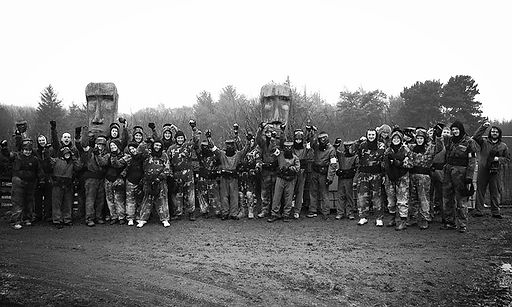 Paintballing for Private Groups near Durham, Newcastle and Sunderland