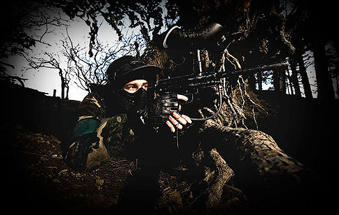 Paintballing for private groups near Sunderland, Newcastle and Durham