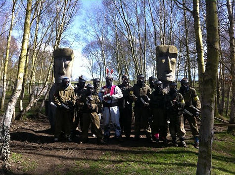 Student paintballing deals Newcastle, Durham and Sunderland