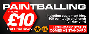 Prices for paintballing near Newcastle, Durham and Sunderland