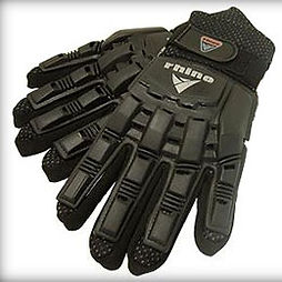 Armoured Gloves for paintballing at Undersiege Paintball
