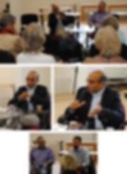 Emmanuel Leclercq et Gabriel de Beauchesne au Salon du Livre Regards Chrétiens