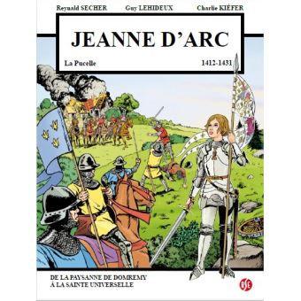 BD Jeanne d'Arc la Pucelle