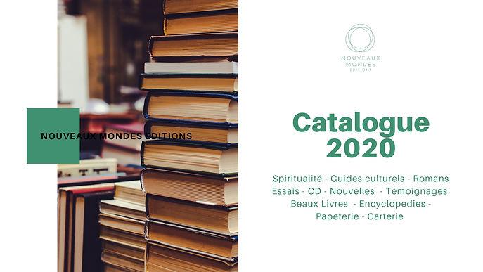 Nouveaux Mondes EDITION -  Catalogue 202