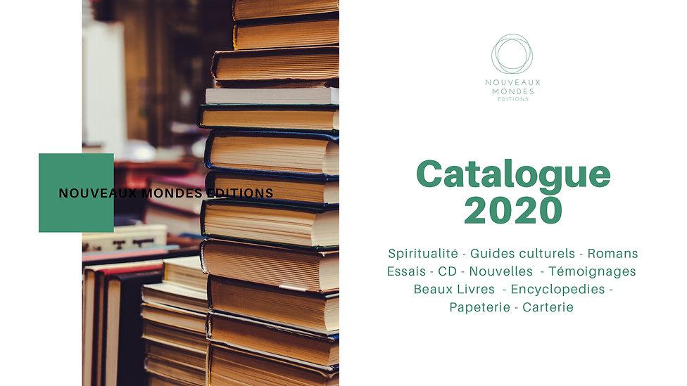 Catalogue Nouveaux Mondes Editions