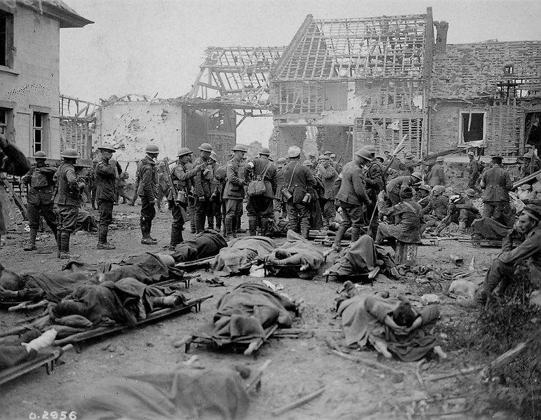 La bataille des 100 jours à Amiens - Roman et qu'elle ne se relève pas