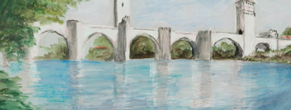 Carterie Compostelle - Le Pont Valentré
