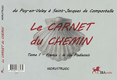 Carnet du chemin - Norvitruoc - Couvertu