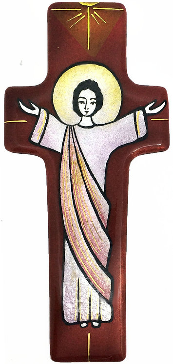 Croix du Christ vivant