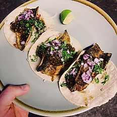 Mackerel Tacos
