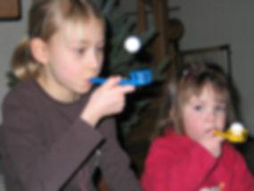 Ćwiczenia oddechowe w klatce lejkowatej u dzieci