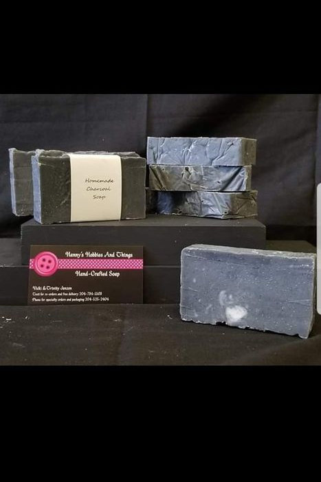 Hand Crafted Charcoal Soap