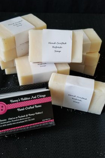Hand Crafted 'Refresh' Soap