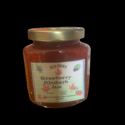 Strawberry Rhubarb Jam 190ml