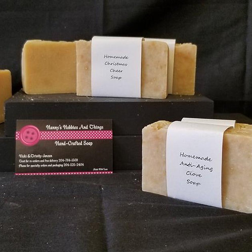 Hand Crafted Christmas Cheer Soap