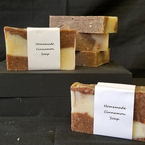 Hand Crafted Cinnamon Soap