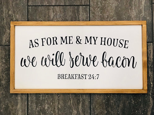 """25.5""""x13.5"""" wooden sign"""