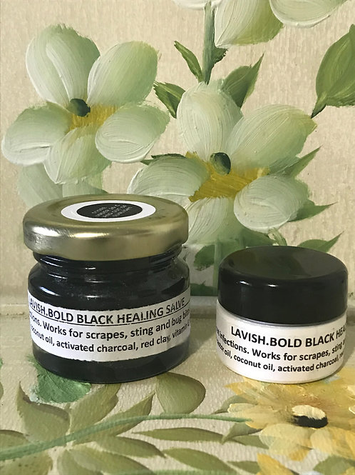 Black Healing Salve - Two Sizes Available