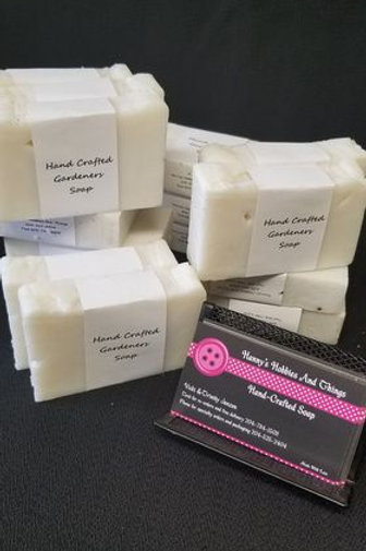 Hand Crafted 'Gardener's' Soap