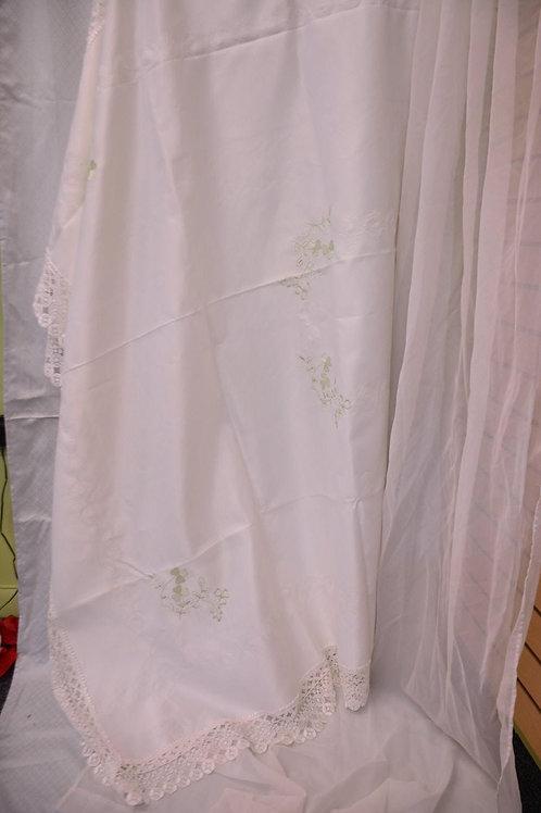 Tablecloth. 60 x 90 $90