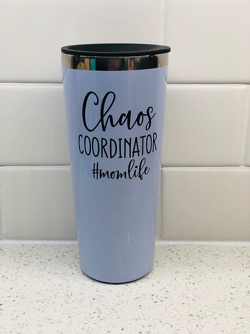 22oz Stainless with Vinyl Decal