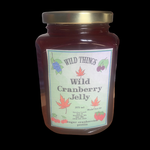 Wild Cranberry Jelly 375ml