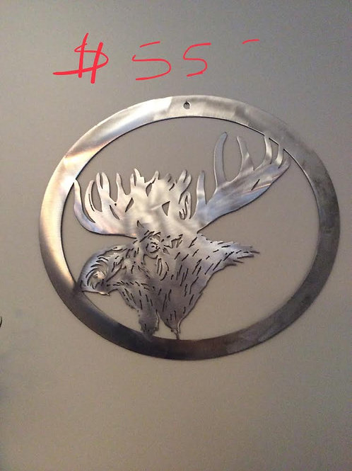 Brushed Metal Wall Art
