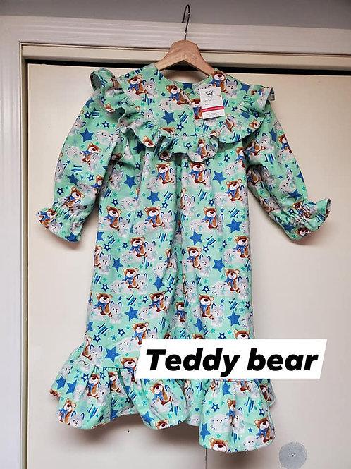 Teddy Bear Nighty - Size 3