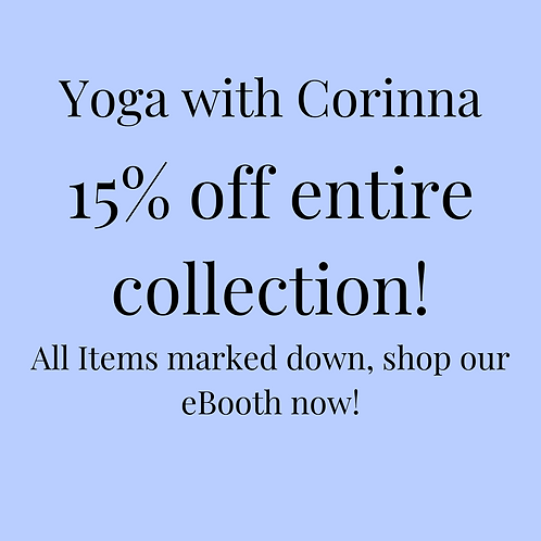 Yoga with Corinna Site Wide Discount